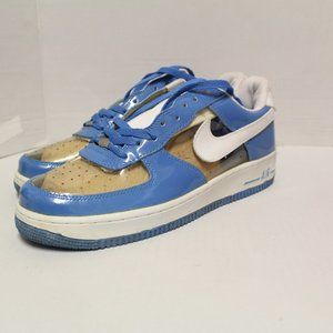 NIKE AIR FORCE 1 PREMIUM CLEAR/ Light BLUE 306353